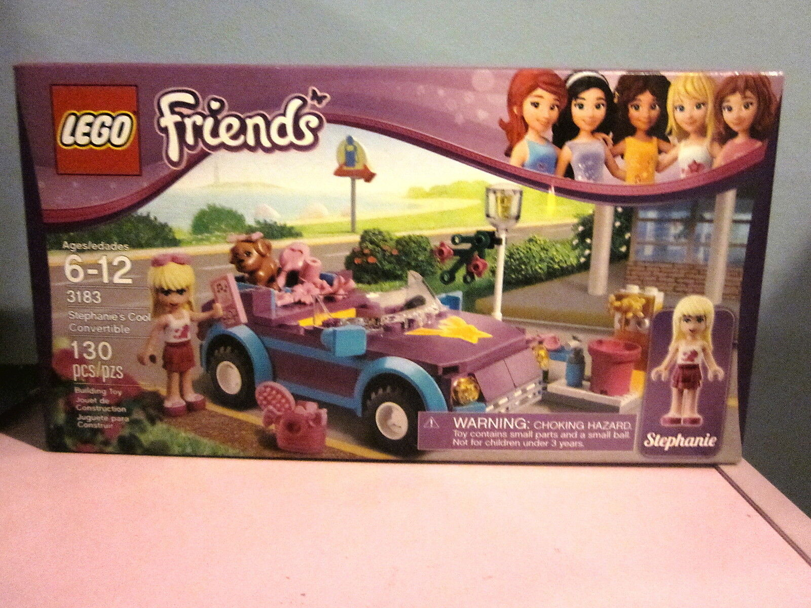 Lego Friends 3183 Stephanie's Cool Congreenible