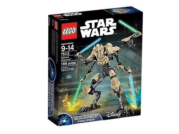 Lego Général Grievous 75112 Star Wars retraité