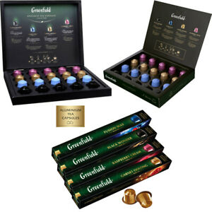 Thé Greenfield en Capsules Compatibles avec Nespresso Free Worldwide Shipping