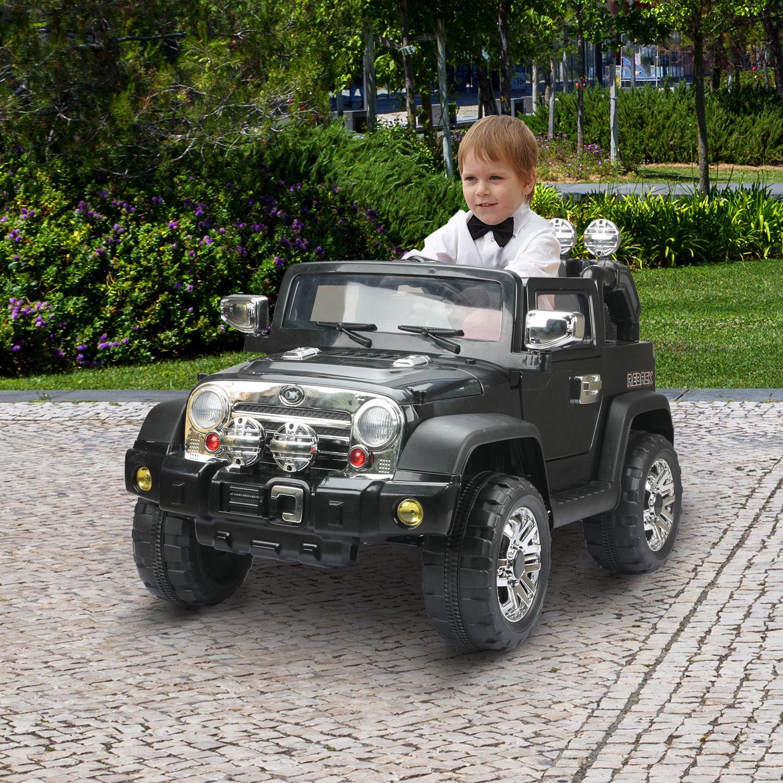 HOMCOM Elektroauto Kinderauto Kinder Elektro Auto Kinderfahrzeug Fahrzeug