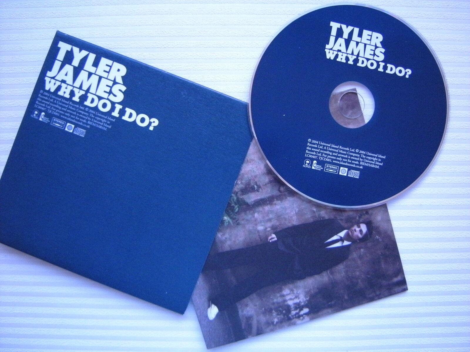 Tyler James (BBC The Voice UK) - Miért csinálom ?, PROMO DJ CD