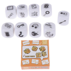 9pcs-Dice-Telling-Story-with-Bag-Story-Dice-Game-Family-Imagine-Magic-Toyy3
