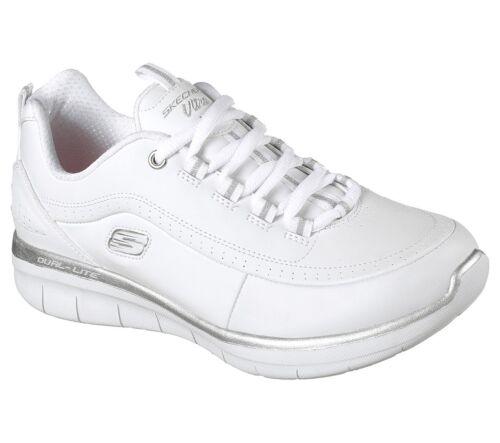 12363 Wsl Foam Donna 0 Synergy Memory 2 Bianco Skechers Scarpe 4xRpwq81