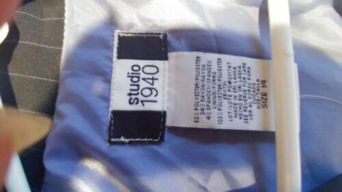righe a New righe blu Tag a 1940 14 Tuta con navy pin studio W Nwt AYq4IZA