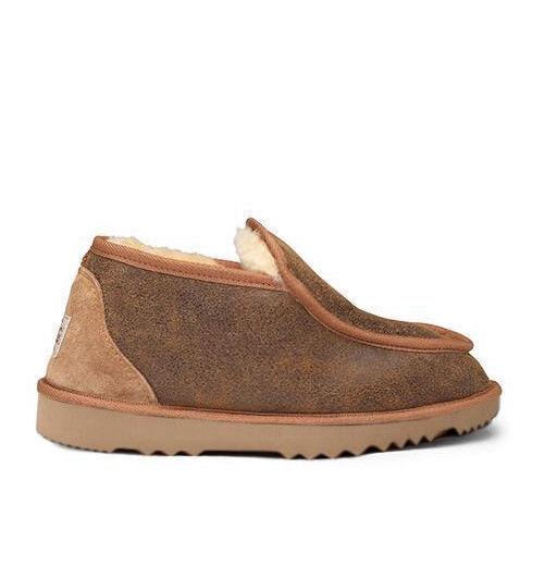 Mens Premium Australian Sheepskin Slippers Boots Mini Alpine - 13 colors