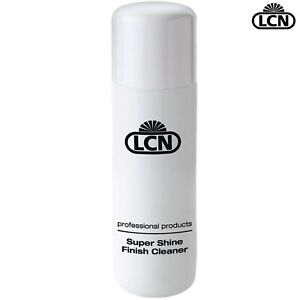 LCN Nails 100ml Super Shine Finish Cleaner Cleans & Nourishes Cuticles & Nails