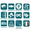 COPPIA-2X-CUSCINO-GUANCIALE-FIOCCO-LATTICE-h12cm-PER-MATERASSO-MADE-IN-ITALY