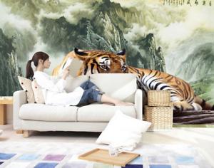 3D Tiger Hills 568 Wallpaper Murals Wall Print Wallpaper Mural AJ WALL AU Lemon