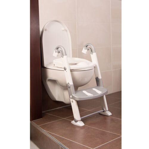 weiß Rotho Kids Kit Toilettentrainer 3in1 silbergrau