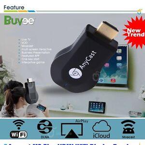 Nuevo Miracast Meida Player TV Stick Google ChromeCast  WIFI Dongle Mac USB