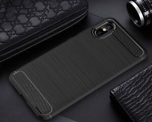 For-Xiaomi-Mi-8-Pro-Case-Carbon-Fibre-Gel-Cover-Ultra-Slim-Shockproof