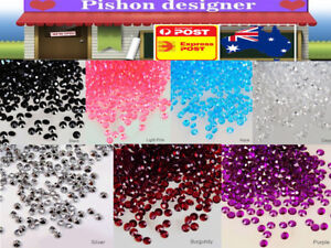 1000PCS-8mm-Acrylic-Crystal-Diamond-Confetti-Table-Scatters-Clear-Vase-Filler
