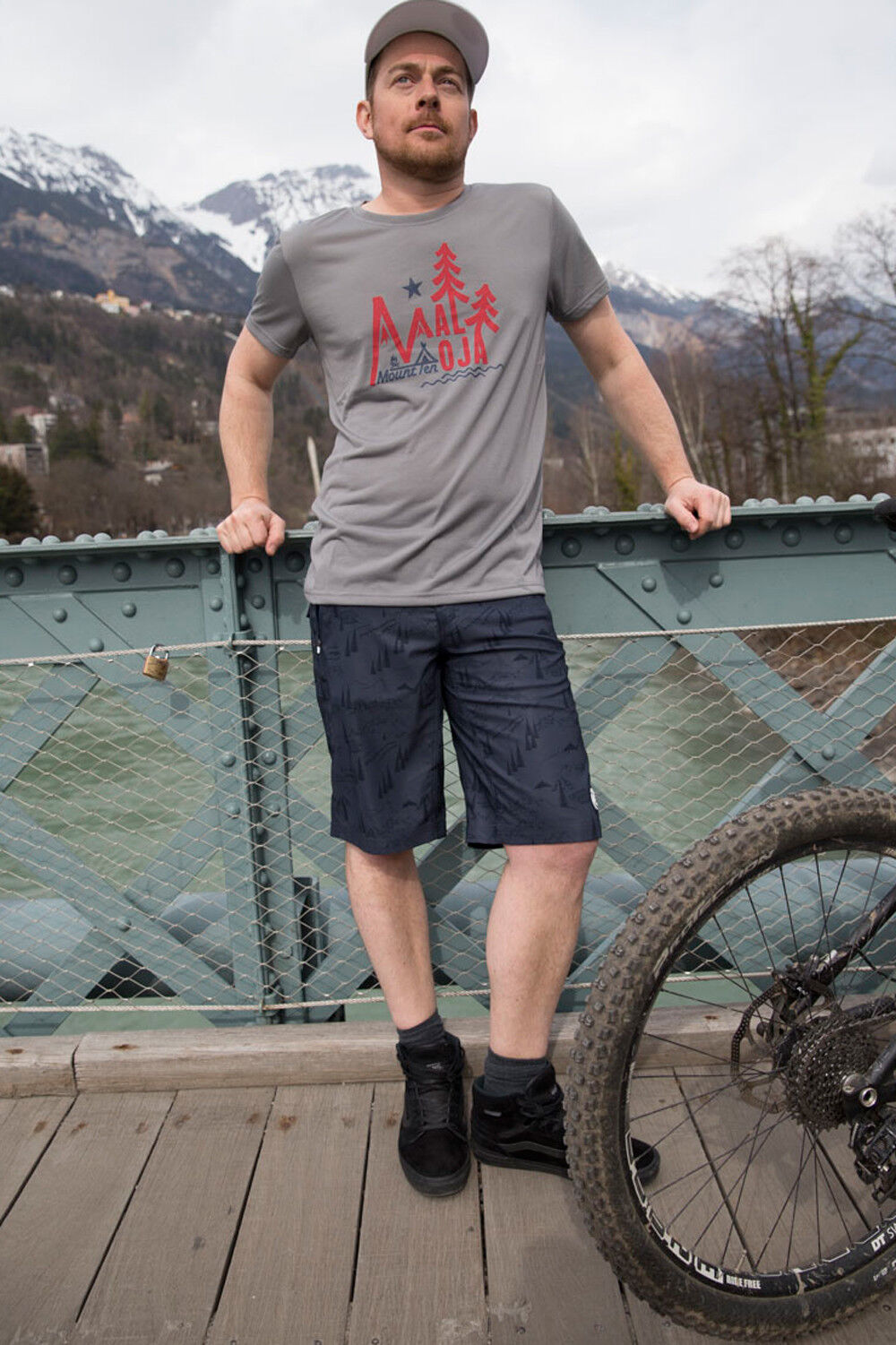 Maloja dunom. T-Shirt  Men's Sports Climbing Fitness Running Hiking  all goods are specials