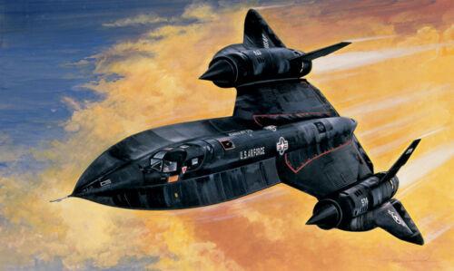 Italeri 145-1//72 Sr-71 Blackbird Neu