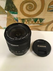 New-open-box-canon-EFS-18-55mm-IS-STM-Lens-UV-amp-1-YR-warranty-for-T6i-T7i-T4i