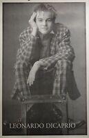 Leonardo Dicaprio 23x35 Plaid Outfit Movie Poster