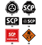 SCP Special Containment Procedures Foundation Masking Tape Adhesive Sticker DIY