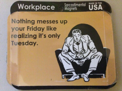 FUNNY SARCASTIC RETRO ART-Workplace Humor NEW MAGNET Batch 1