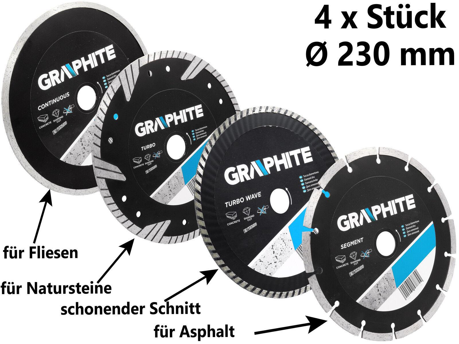 Diamant Scheibe Trennscheibe Ø 230 mm SATZ Flexscheibe Diamanttrennscheibe | Verschiedene Stile und Stile  | Deutsche Outlets  | Creative