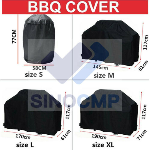 S//L//XL Size Waterproof BBQ Cover Universal Gas Electric Barbeque Grill Protector