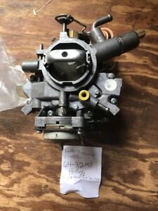 Details about 1980's Ford/Mercury Cars 6 cyl 3 3L Holley 1 Barrel  Carburetor-REBUILT