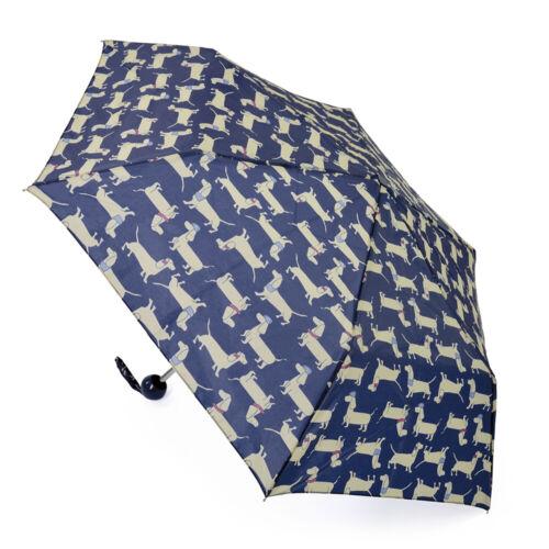 Drizzles Womens//Ladies Dachshund Dog Compact Umbrella UM347