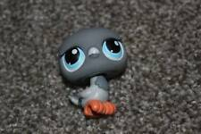 Littlest Pet Shop Gray Pigeon #356 Blue Eyes Bird LPS Girls Toy Hasbro Animal