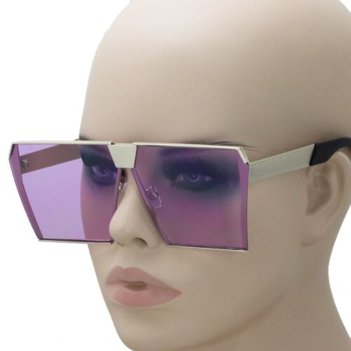 "OVERSIZED Square STARDUST /""Irresistible/"" Women Sunglasses Shades Colorful Lenses"