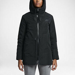 d7d06d8b2be5 Details about NWT Women s Nike Sportswear NSW Down Fill Parka Black Small  805080 010  320