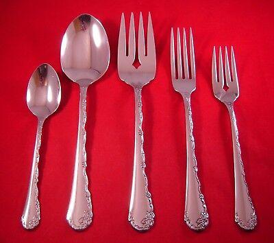 Oneida Stainless Flatware BELLE ROSE Casserole Spoon COMMUNITY