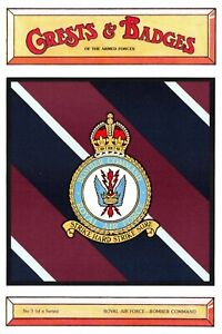 Postcard-RAF-Royal-Air-Force-Bomber-Command-Crest-Badge-No-3-NEW