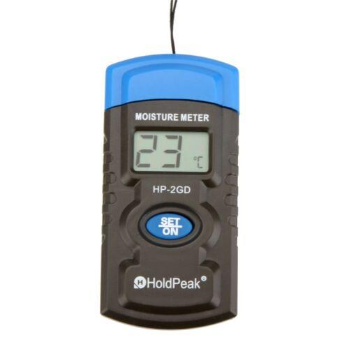 Higrometro Higrotermografo Medidor Temperatura Humedad Materiales Construccion