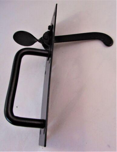 Black Suffolk Gate Thumb Latch Cottage Outdoor Door Handle Lock Catch D23