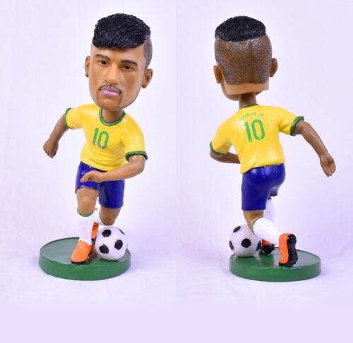 NEW Design!Resin Soccer Neymar,Basketball Bobble Head Figure,Souvenir 18cm
