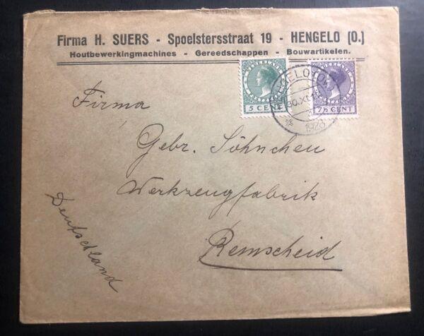 1928 Hengelo-bas Commercial Couverture à Remscheid Germany RafraîChissement