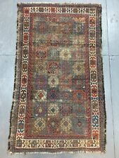 Old Antique Handmade Baluch Rug 4.10x2.11 Ft Shabby CHIC