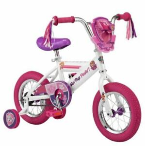 Girls Bike With Training Wheels 12 Inch Bicycle Pink Paw Patrol Starter New 38675123069 Ebay