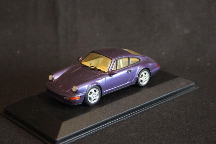 Minichamps Porsche 911 Carrera 2 4 1992 1 43 Purple (HB)