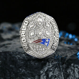 Men-039-s-Sport-Ring-2018-2019-NEW-ENGLAND-PATRIOTS-Championship-Ring