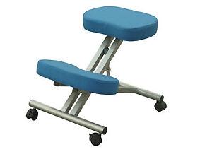 Sedia ergonomica ortopedica poggia ginocchia sgabello per ufficio