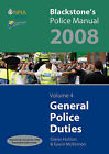 General Police Duties: 2008: v. 4 by Glenn Hutton, Gavin McKinnon (Paperback, 2007)