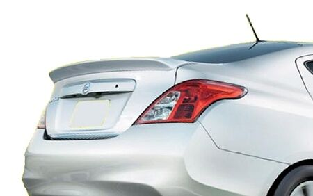 UNPAINTED-GREY PRIMER  BRAND NEW ABS REAR SPOILER FOR 2012-2017 NISSAN VERSA 4DR