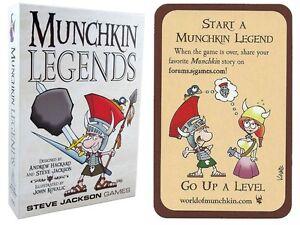 Munchkin-Legends-Card-Game-w-Start-A-Munchkin-Legend-Promo-Card-Steve-Jackson