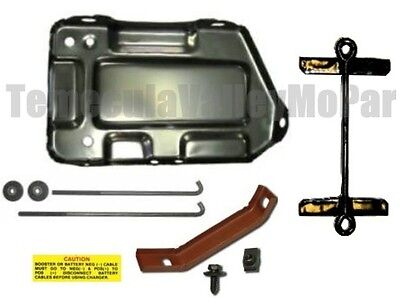 Battery Tray /& Hold-Down Set for 1970-1976 MoPar A-Body