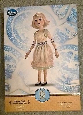 "CHINA GIRL WIZARD of OZ GREAT POWERFUL disney store 19"" LIMITED EDITION DOLL 500"