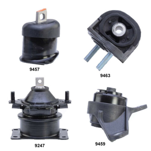 Engine /& Transmission mounts set 4 Pcs for Acura TL 3.5L 3.7L Automatic Trans.
