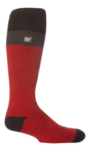 39-45 eu Men/'s Long Thermal Ski Socks 2.3 tog Heat Holders One size 6-11 uk