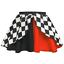 Women/'s Halloween Costume JOKER Skirt FANCY DRESS Jester Harlequin Batman SKIRT