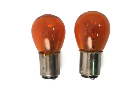 New Aliya 12V21//5W Yellow Parking Bulb 1016 Quint Claw Dual Socket Halogen