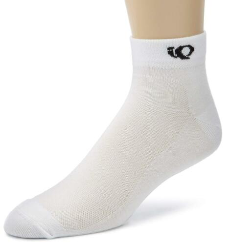 6 Pairs Pearl Izumi Cycling White Men/'s Socks Ankle